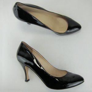 "St. John Italy US 6 M Women Pump Heel 3.5"" Patent"
